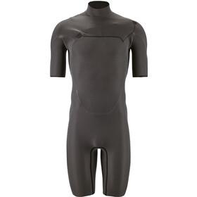 Patagonia R1 Lite Yulex Front-Zip Spring Suit Men black